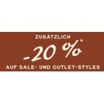 Fossil – 20% Extra-Rabatt auf den Sale + 15% NL-Rabatt
