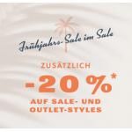 Fossil – 20% Rabatt auf den Sale (Taschen, Uhren u.s.w.)!