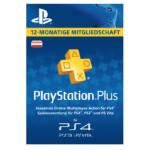 PlayStation Plus 12 Monate Mitgliedschaft um 47 € statt 60,49 €