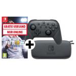 Nintendo Switch Pro Controller + Tasche + FIFA 18 um 85€ statt 135,94 €