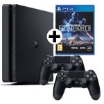 PlayStation 4 1TB + Star Wars Battlefront II+ 2x Controller um 299 €