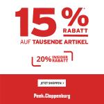 Peek&Cloppenburg.at – 20 % Rabatt auf Geschenkideen