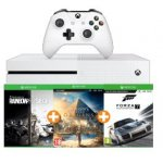 Xbox One S 1TB + Assassins's Creed Origins (DC) + Rainbow Six Siege (DC) + Forza 7 inkl. Versand um 239 € statt 318,87 €