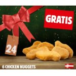 Burger King – 6 Stück Chicken Nuggets GRATIS – nur heute