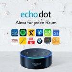 Amazon Echo Dot (2. Generation) inkl. Versand um 29,99 € statt 59,99