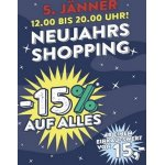 Merkur Neujahrs-Shopping – 15 % Rabatt auf euren Einkauf am 05.01.