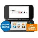 Nintendo New 2DS XL (Schwarz/Türkis) um 123€ statt 145€ – Bestpreis