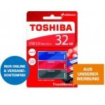 3x Toshiba USB Stick 32GB inkl. Versand um 25 € statt 39,98 €