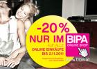 -20% auf alle Online Einkäufe im BIPA Onlineshop