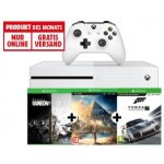 Xbox One S 1TB + Assassins's Creed Origins (DC) + Rainbow Six Siege (DC) Steep (DC) + The Crew (DC) + Forza 7 um 239 € statt 318,87 €