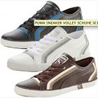 Puma Sneaker Volley in Schwarz/Weiß/Braun um 39,85€ (inkl. Versand) @ebay
