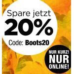 Reno Onlineshop – 20% Rabatt auf Stiefel, Stiefeletten & Boots