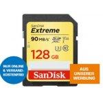 SanDisk Extreme 128GB SDXC Speicherkarte um 49 € statt 60,49 €