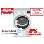 Elektra Bregenz Wäschetrockner TKFN 8200 um 369,99 € statt 461 €