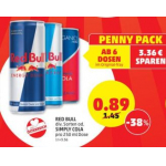 Red Bull (Original / Sugarfree) um 0,88 € bei Penny am 7. Februar