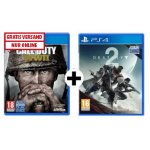 Call of Duty WWII (PS4) + Destiny 2 (PS4) um 59 € statt 85,26 €