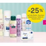 BIPA Online: – 25% auf Bäder, Duschen, Bodylotions & Handcremen