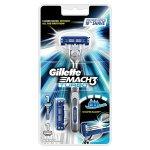 Gillette Mach3 Turbo für Männer Rasierergriff + 2 Rasierklingen um 4,98 € statt 10,99 € (Amazon Plus Produkt)