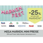 Bipa großes Markenfest: 25% Rabatt auf ausgewählte Marken