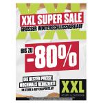 XXL Sports Super Sale mit bis zu 80% Rabatt bis 14.3.2018