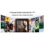 Kindle Unlimited – 3 Monate um 1,99 € statt 29,97 € testen