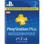 PlayStation Plus Mitgliedschaft – 12 Monate um 44,99 € statt 49,99 €