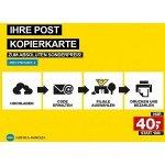 Post Kopierkarte – 120 € Guthaben um nur 40 € kaufen
