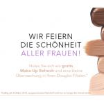 Douglas Weltfrauentag – Gratis Make-Up Refresh + Geschenk