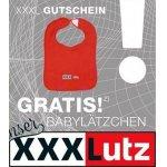 XXXLutz Filialen – GRATIS Babylätzchen durch Gutschein (bis 24. März)