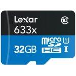 Lexar microSDHC 633x 32GB Speicherkarte + Adapter um 11€ statt 24€