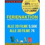 Lugner Kino – alle 2D-Filme 5,50 € und alle 3D-Filme 7 € (26. – 29. März)