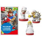 Super Mario Odyssey + 3 amiibo Super Mario Odyssey Figuren um 65 €