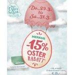 Merkur Oster Aktion – 15 % Rabatt auf euren Einkauf (29. – 31.3.)