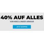 mysportswear – 40% Rabatt auf Nike & Under Armour Artikel (bis 17.04.)