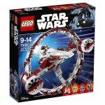 Lego Star Wars Episoden I-VI – Jedi Starfighter with Hyperdrive (75191) + GRATIS Lego Freundschaftsblume inkl. Versand um 83,47 € statt 113,48 €
