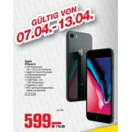 Apple iPhone 8 64GB um 575 € statt 717€ bei Metro (am 13.04. ab 18 Uhr)