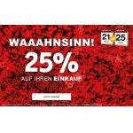 XXXLutz – 25 % Rabatt auf euren Einkauf (bis 25. März)