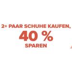 Crocs Onlineshop – 40% Rabatt ab 2 Artikel & gratis Versand
