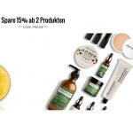 Lookfantastic – 15% Rabatt ab 2 Produkten + Geschenk ab 65 €