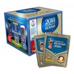 Panini Sticker WM 2018 Mega-Box (500 Sticker) um 64,99€ statt 69,99€