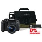 Canon EOS 750D + 18-55mm IS STM + Zubehör um 477 € statt 583,85 €