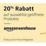 Amazon Warehouse Deals – 20% Extra-Rabatt in DE / FR / IT / CO.UK