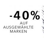Douglas.at – 40% Rabatt auf ausgewählte Marken