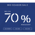 ESPRIT – Mid Season SALE mit bis 70% Rabatt