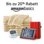 Amazon Basics Produkte – bis zu 20 % Rabatt (bis 1. Mai)