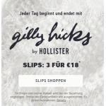 Hollister: 3 Slips um 18 € & 2 BHs um 44 €