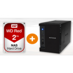 Netgear ReadyNAS 212 + WD Red 2TB um 262 € statt 378,83 €