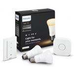 Philips Hue White Ambiance E27 LED Starter Set um 79,99 € statt 121 €