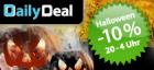 -10% auf alles von heute 20:00 – morgen 4:00 früh @Daily Deal Halloweenspecial