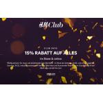 H&M: 15% Rabatt auf den Einkauf für Club-Mitglieder